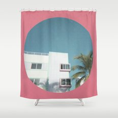 Miami Beach 1 Shower Curtain