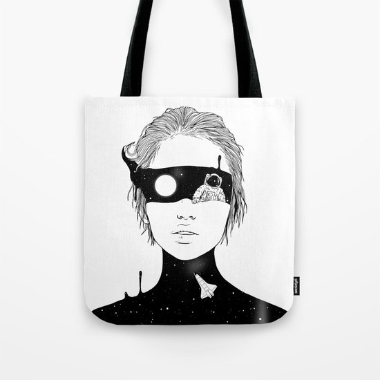 If I Could Just See You from Up Here Tote Bag