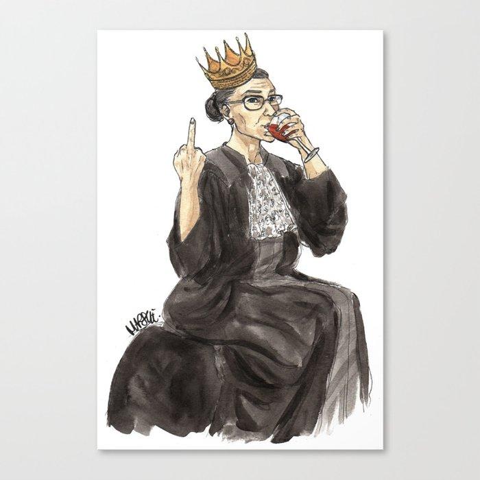 Queen RBG Leinwanddruck