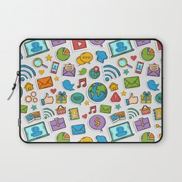 Like me all over the world Laptop Sleeve