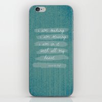 van gogh iPhone & iPod Skins featuring VAN GOGH by Lex Bleile