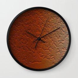 Copper Skin Wall Clock