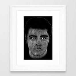 Mohamed Ali 2 Framed Art Print