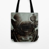 nemo Tote Bags featuring Captain Nemo by Bella Blue Photography