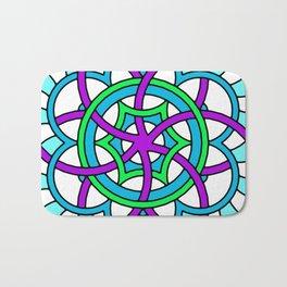 Celtic | Colorful | Mandala Bath Mat