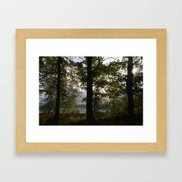 Hazey Mornings Framed Art Print