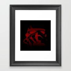 The Bloody Stormtrooper Framed Art Print