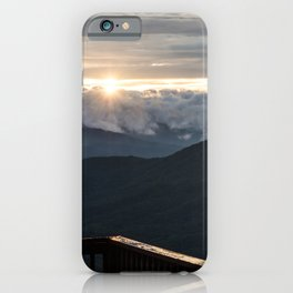 Sunrise In North Georgia Mountains 5 iPhone Case