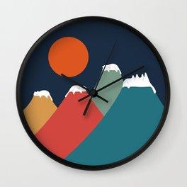 Cat Landscape 10 Wall Clock