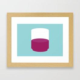 Showtasting - Wine Glass - Big Kimo Framed Art Print
