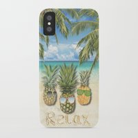 relax iPhone & iPod Cases featuring relax by ulas okuyucu