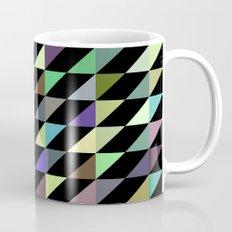 Tilted rectangles pattern Mug