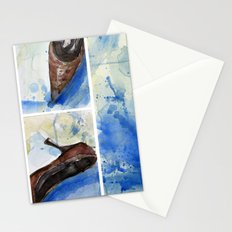 Flowers and shoe  Stationery Cards