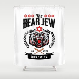 Inglourious Basterds - The Bear Jew Shower Curtain