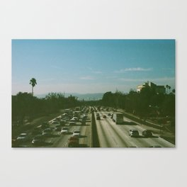 Freeway Canvas Print