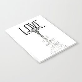 LOVE TO THE MOON AND BACK Notebook