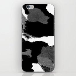 Black Is Back iPhone Skin