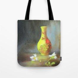 Yellow Vase Tote Bag