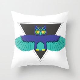 EDC Owl Throw Pillow