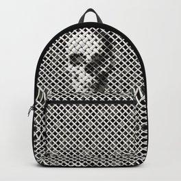 Wicker Skull Backpack