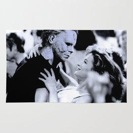 MICHAEL MYERS IN DIRTY DANCING Rug