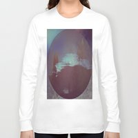 lunar Long Sleeve T-shirts featuring Lunar Light by Jane Lacey Smith