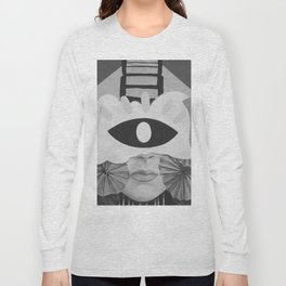 What is Art? (Black and White) Long Sleeve T-shirt