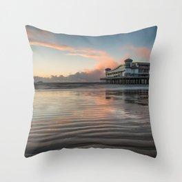 Sea Landscape Throw Pillow