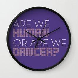 Human Dancer Wall Clock