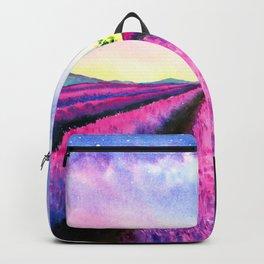 Lavender Fields on Sunday Backpack