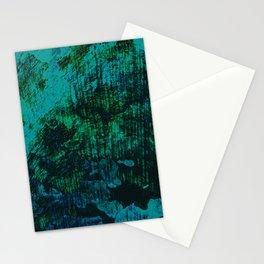 Flora Celeste Kyanite Aqua Aura Tree Texture  Stationery Cards