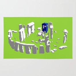 Stonehenge Tardis Rug