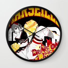 MARCH MADNESS PIN UP Wall Clock