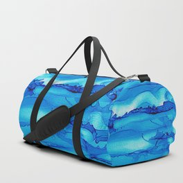 Alcohol Ink Seascape 2 Duffle Bag