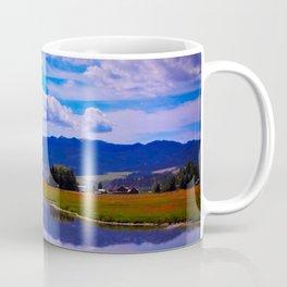 'Blue Skies Smilin' at Me Coffee Mug
