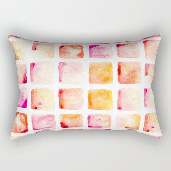 Peach Cobbler Rectangular Pillow