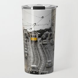 Lisbon street Travel Mug