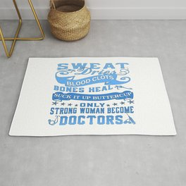 Doctors Woman Rug