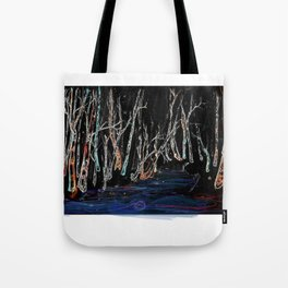 Nature's Glow Stick Party Tote Bag