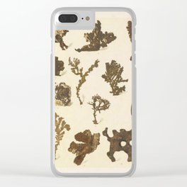 Copper Formations Clear iPhone Case