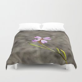 Pink in Idaho Duvet Cover