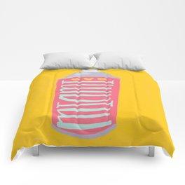 Miami spray paint Comforters