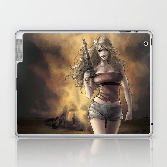Boom_girl Laptop & iPad Skin