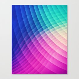 Abstract Colorful Art Pattern (LTBG - Low poly) - Texture aka. Spectrum Bomb! (Photoshop Colorpicker Canvas Print