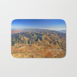 And in that moment, I swear we were infinite ∞. Aerial photo Bath Mat