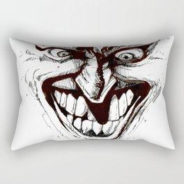 """""""Turn that Smile Upsidedown"""" Rectangular Pillow"""