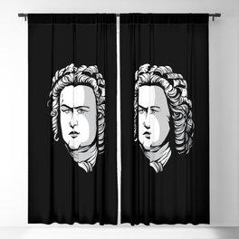 Bach Portrait Blackout Curtain