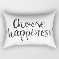 Choose Happiness Rectangular Pillow