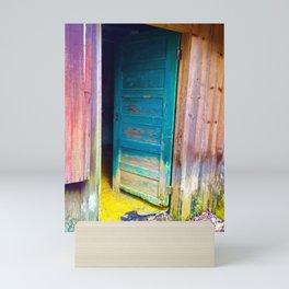 Door to a Colorful Past by Smokies Art Mini Art Print