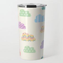 Colorful clouds Travel Mug